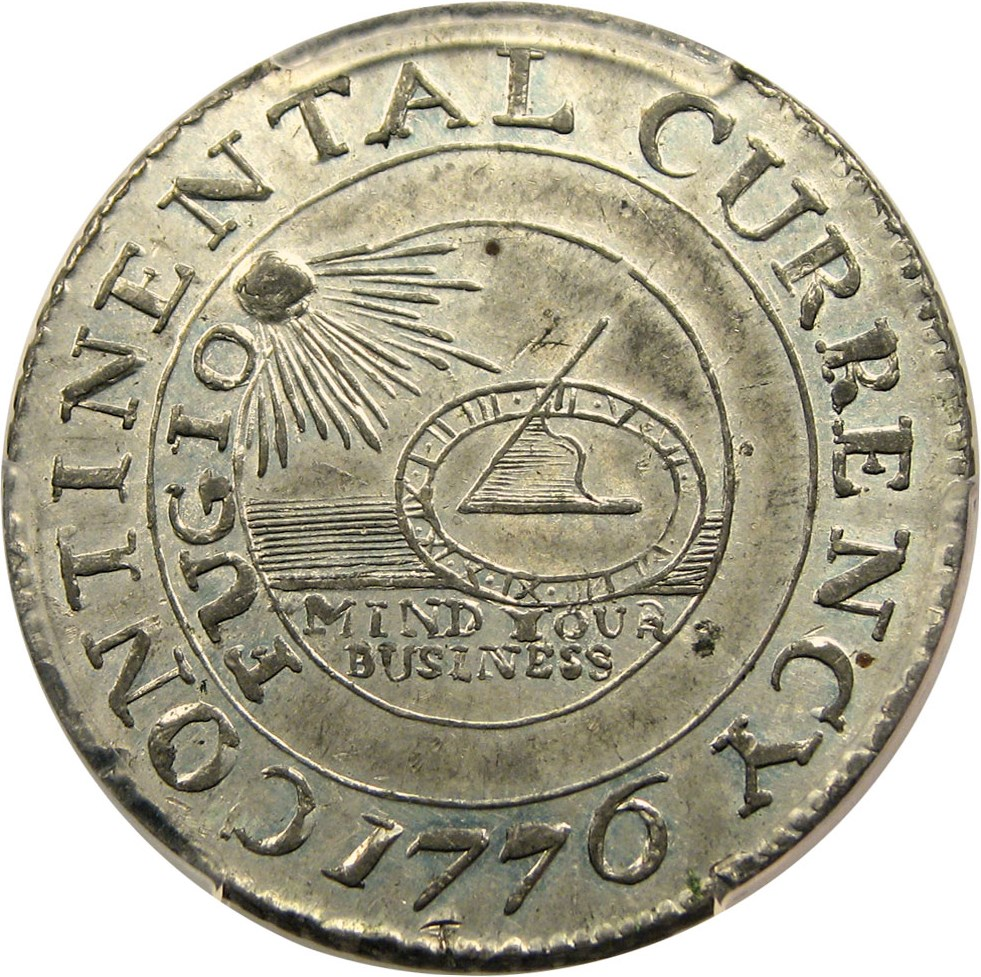 sample image for 1776 Cont Dollar, CURRENCY