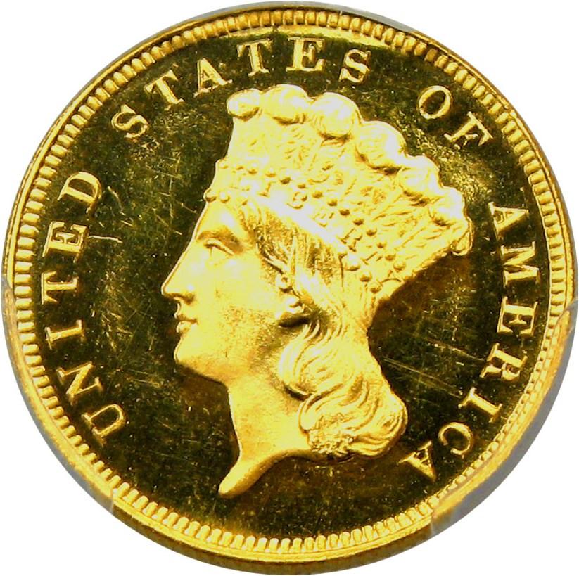 sample image for 1887 $3  PR DCAM