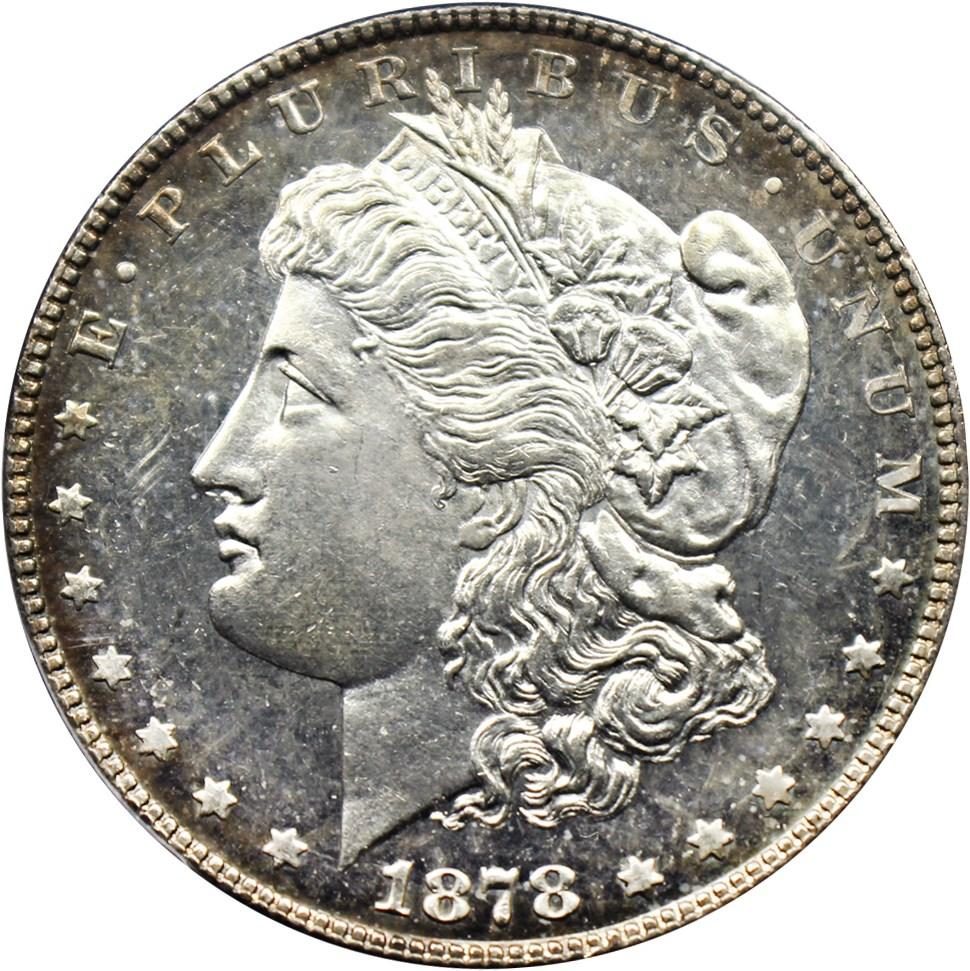 sample image for 1878 7TF Reverse of 1878 $1  MS VAM-79, Fill in 8s