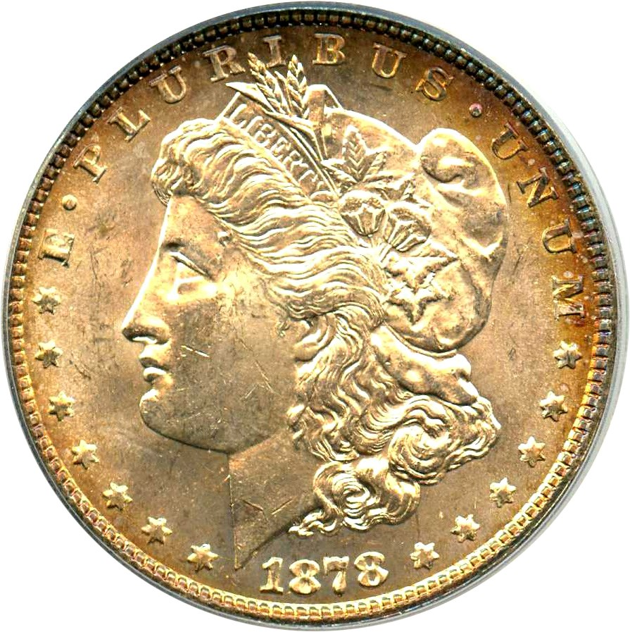 sample image for 1878 8TF $1  MS VAM-20, Doubled Date