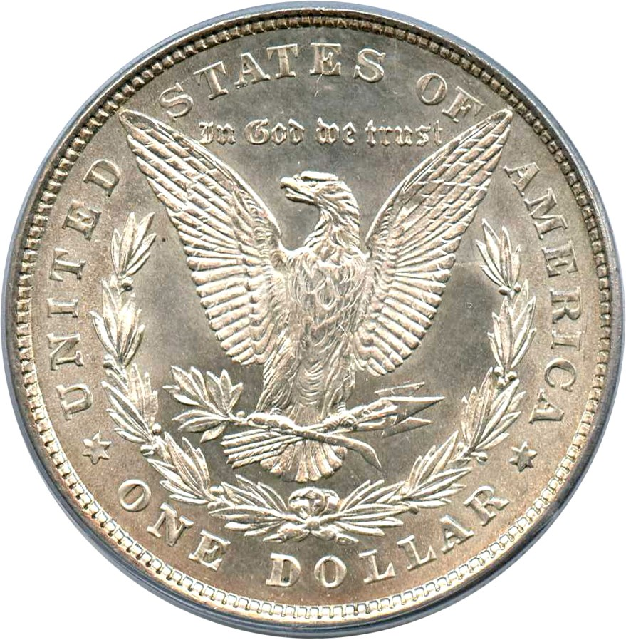 sample image for 1878 8TF $1  MS VAM-14.3, Doubled Bow