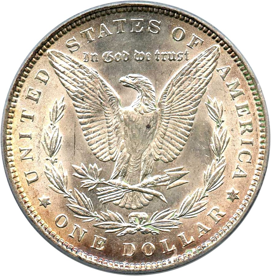 sample image for 1889 $1  MS VAM-19A, Bar Wing