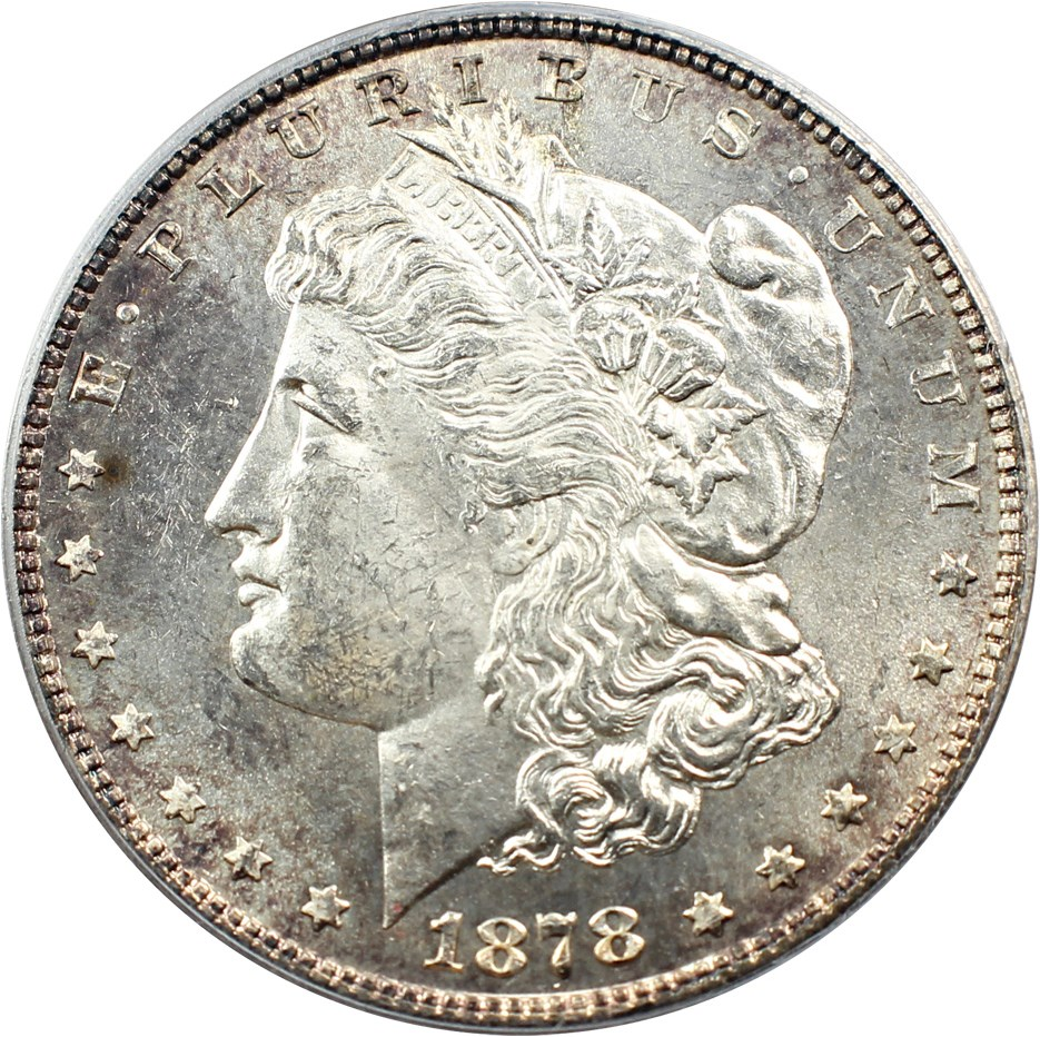 sample image for 1878 7TF Reverse of 1878 $1  MS VAM-80, Weak LIB