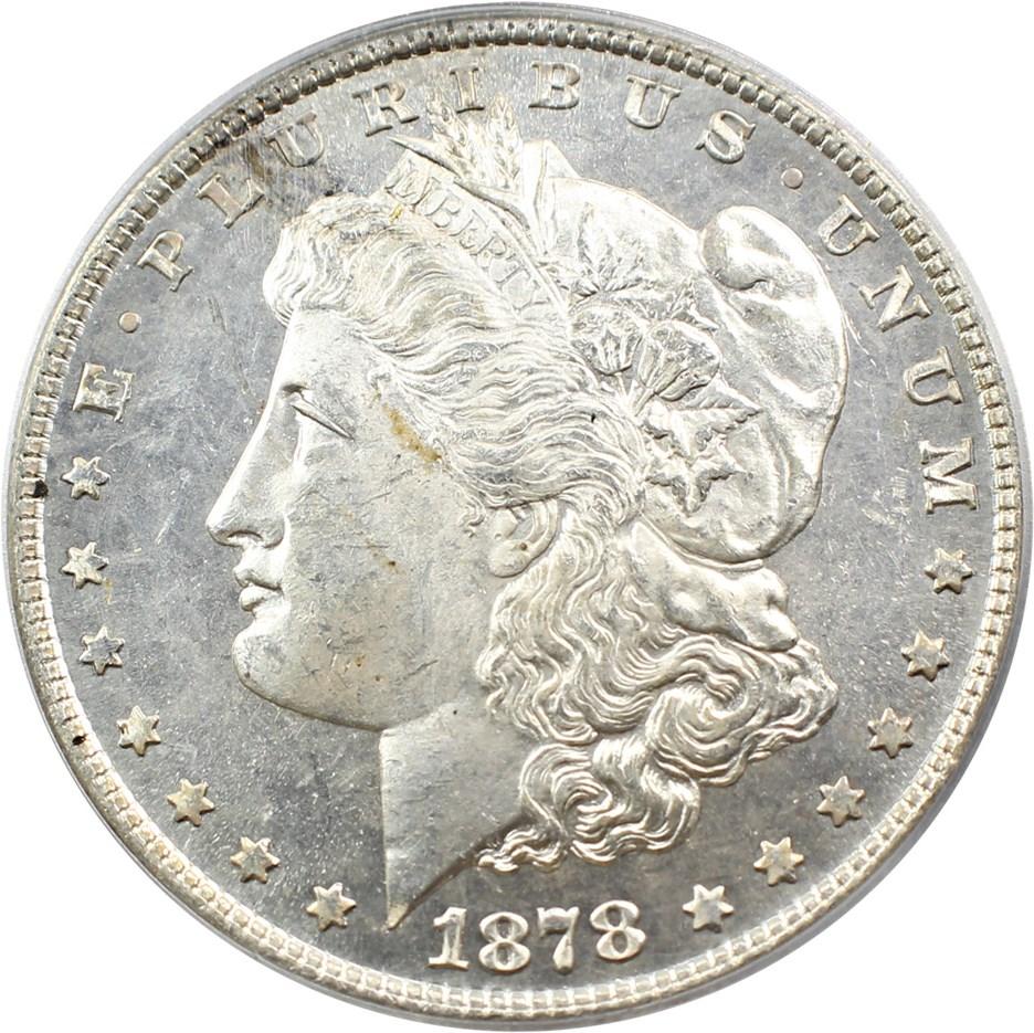sample image for 1878 8TF $1  MS VAM-14.8, Spiked Eye