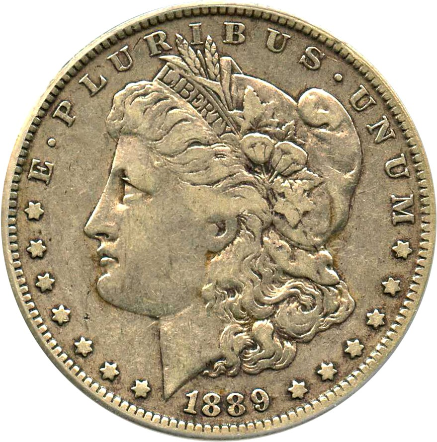 sample image for 1889-O $1  MS VAM-1A, Clashed E