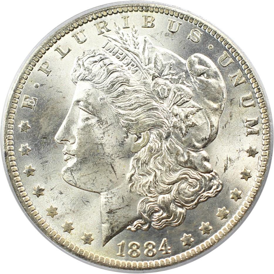 sample image for 1884-O $1  MS VAM-10, O/O