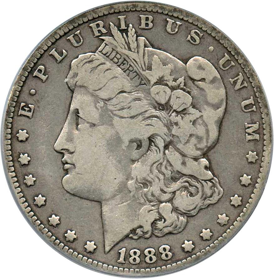 sample image for 1888-O $1  MS VAM-2, Oval O