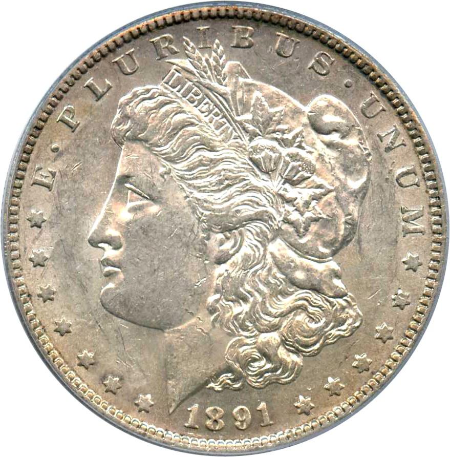 sample image for 1891-S $1  MS VAM-3, Doubled Stars