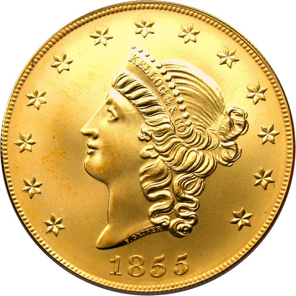 sample image for 1855 $50 Kellogg Res