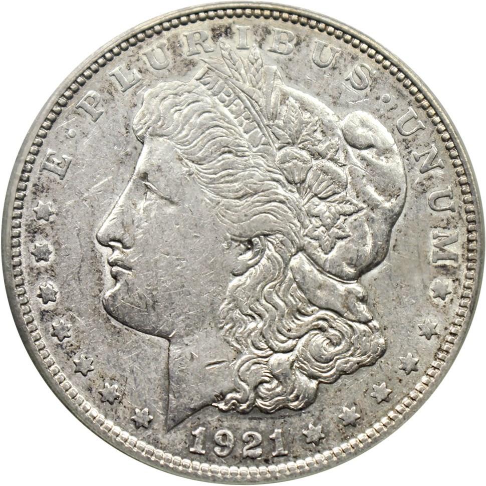 sample image for 1921-D $1  MS VAM-1N, Unicorn