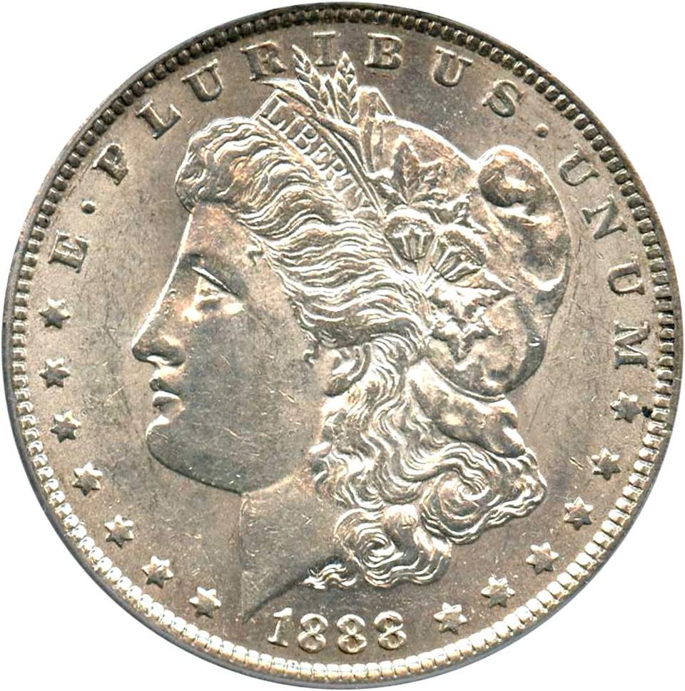 sample image for 1888-O $1  MS VAM-6, Oval O