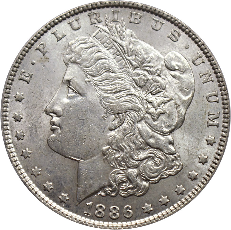 sample image for 1886 $1  MS VAM-20, Doubled Date