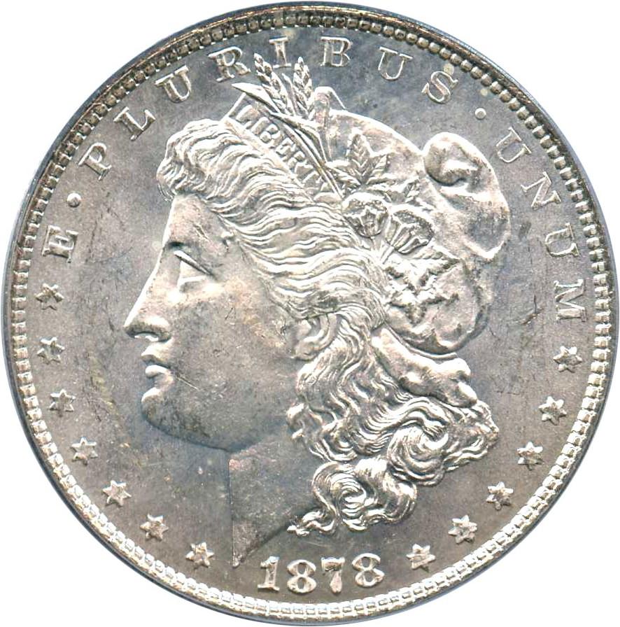 sample image for 1878 8TF $1  MS VAM-21, Broken R&B