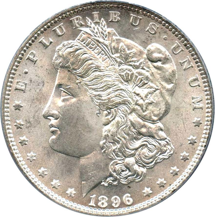 sample image for 1896 $1  MS VAM-4, Doubled Stars