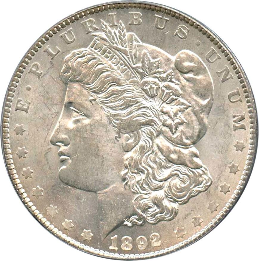 sample image for 1892-O $1  MS VAM-7, Doubled Ear