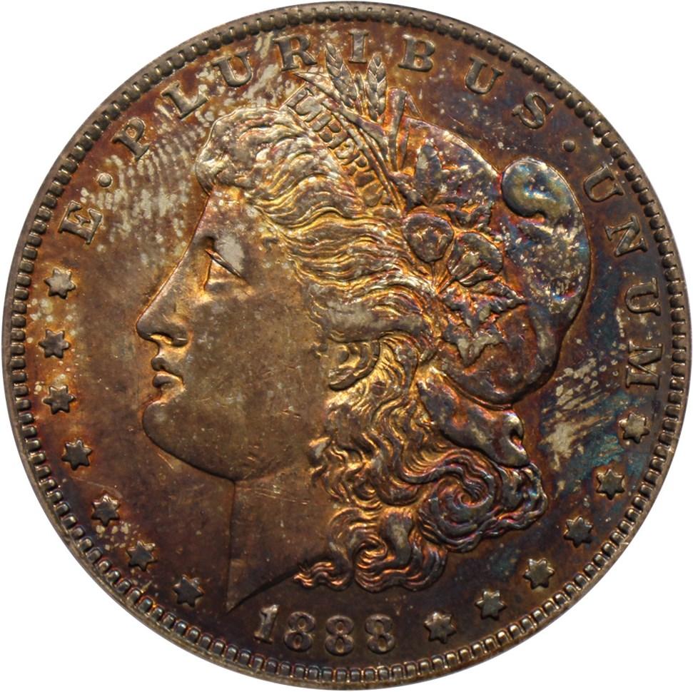 sample image for 1888-O $1  MS VAM-18, Oval O