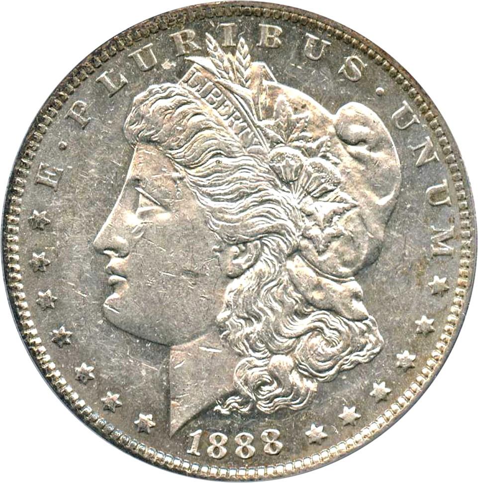 sample image for 1888-O $1  MS VAM-15, Doubled Reverse