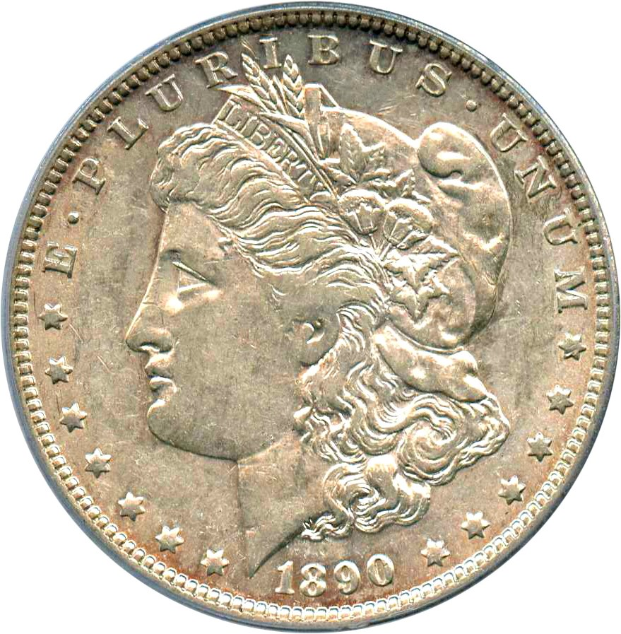 sample image for 1890-O $1  MS VAM-20, Doubled Ear
