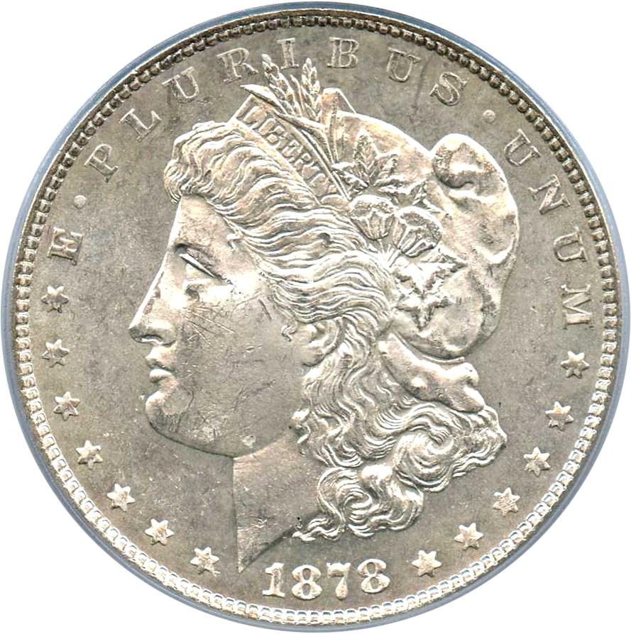 sample image for 1878 7/8TF Weak $1  MS VAM-32, 7/3