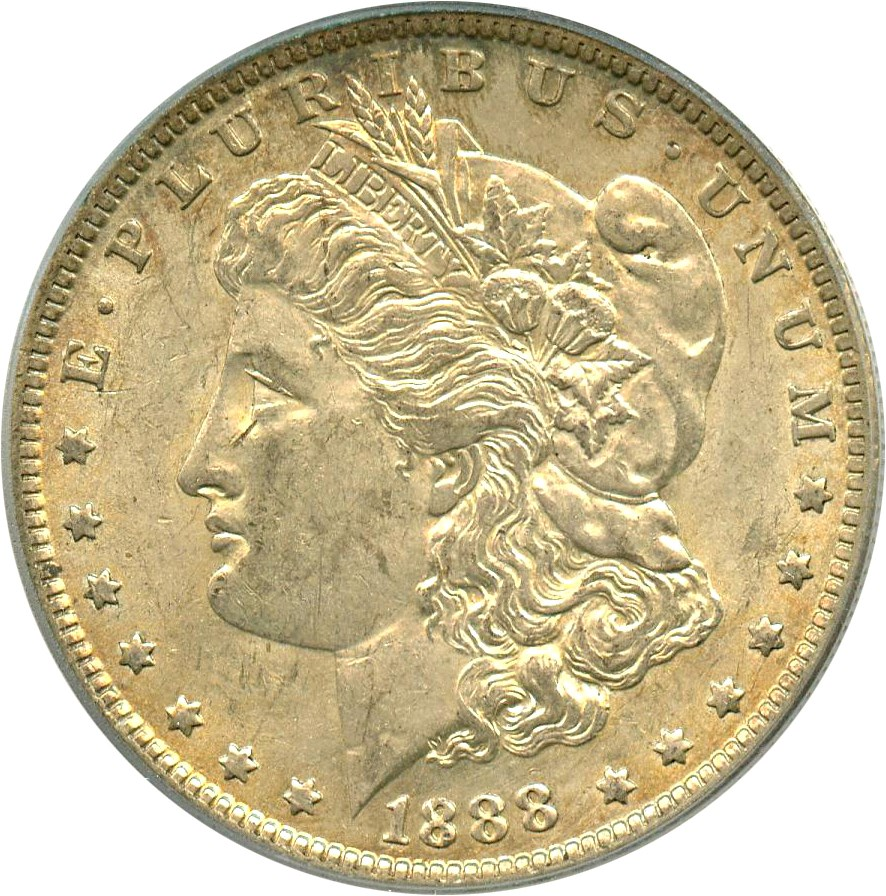 sample image for 1888-O $1  MS VAM-17, Oval O