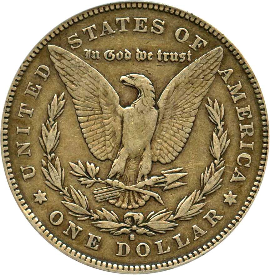 sample image for 1878-S $1  MS VAM-58, Long Arrow Shaft