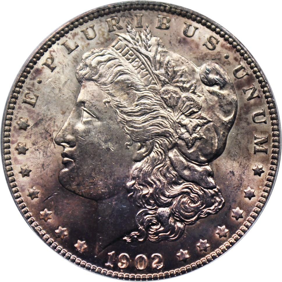 sample image for 1902 $1  MS VAM-4, Doubled Ear