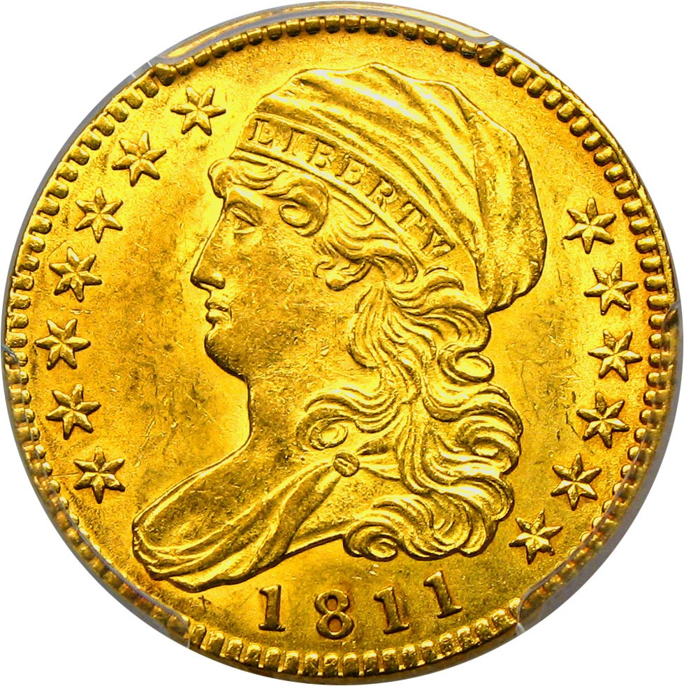sample image for 1811 $5  MS Tall 5