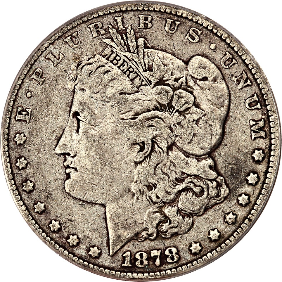 sample image for 1878 7TF Reverse of 1878 $1  MS VAM-188 Washed Out L