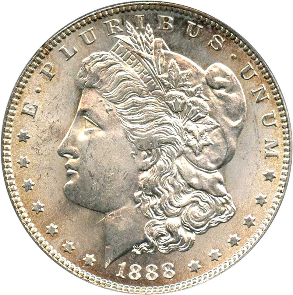 sample image for 1888 $1  MS VAM-12, Doubled Reverse