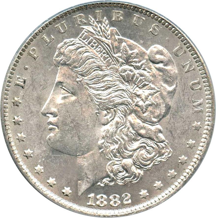 sample image for 1882-O $1  MS VAM-5, O/S, EDS