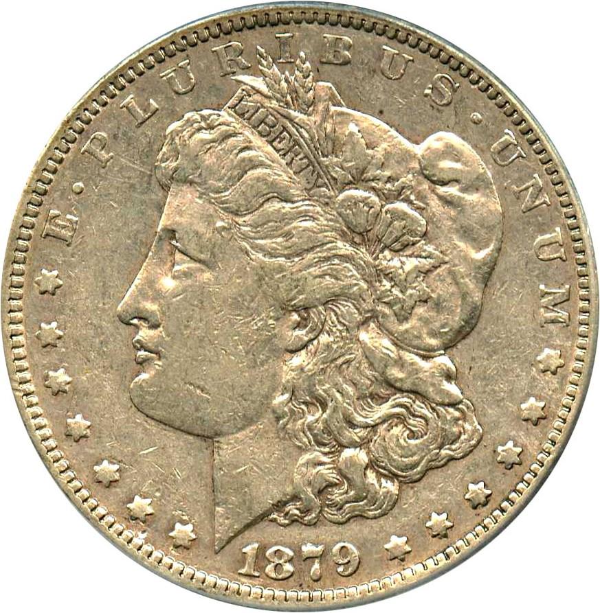 sample image for 1879-S $1  MS VAM-50