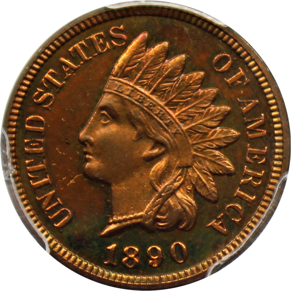 sample image for 1890 1c PR RB