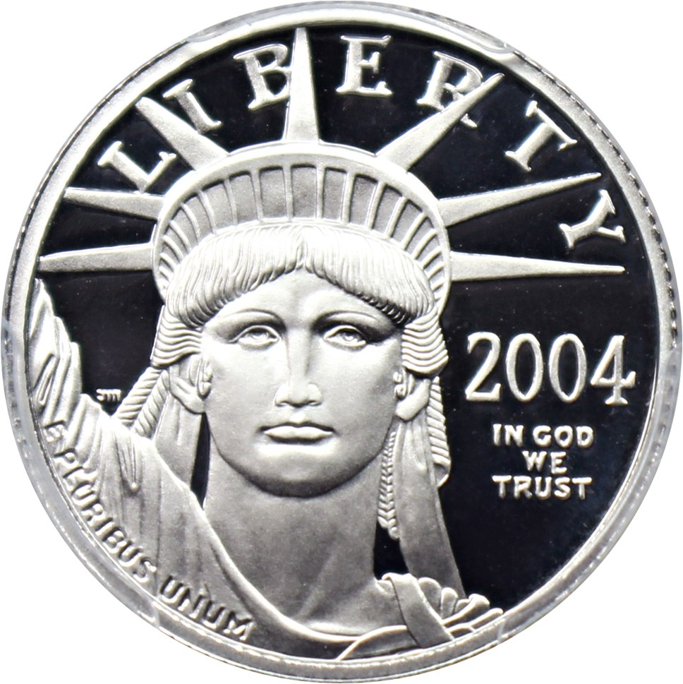 sample image for 2004-W Platinum Eagle $25  PR DCAM