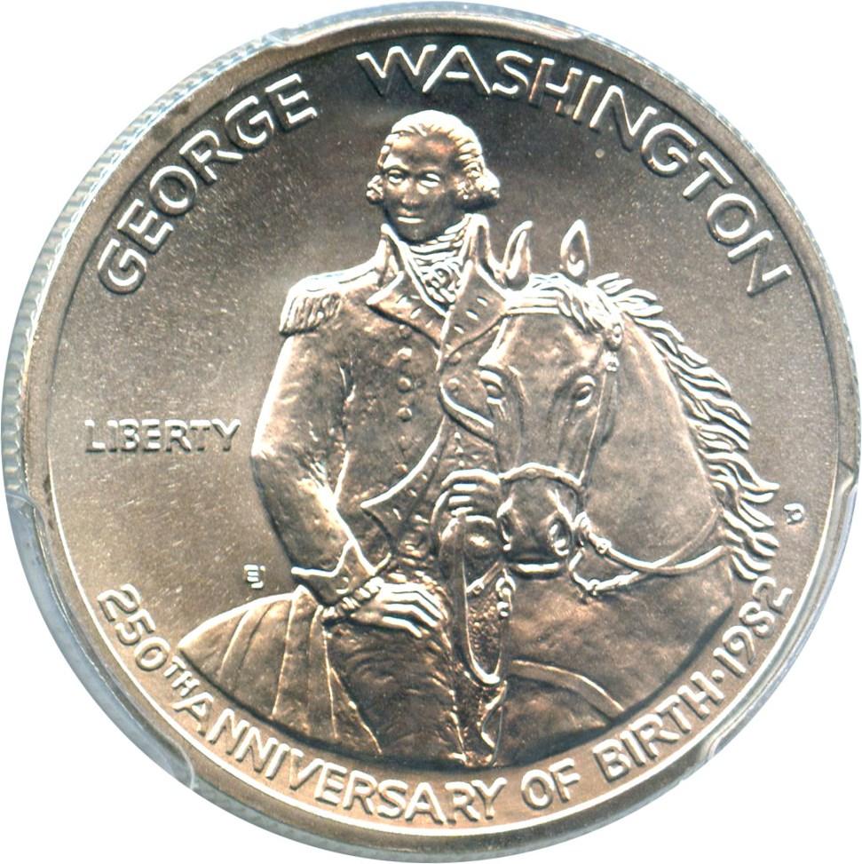 sample image for 1982-D Washington 50c MS