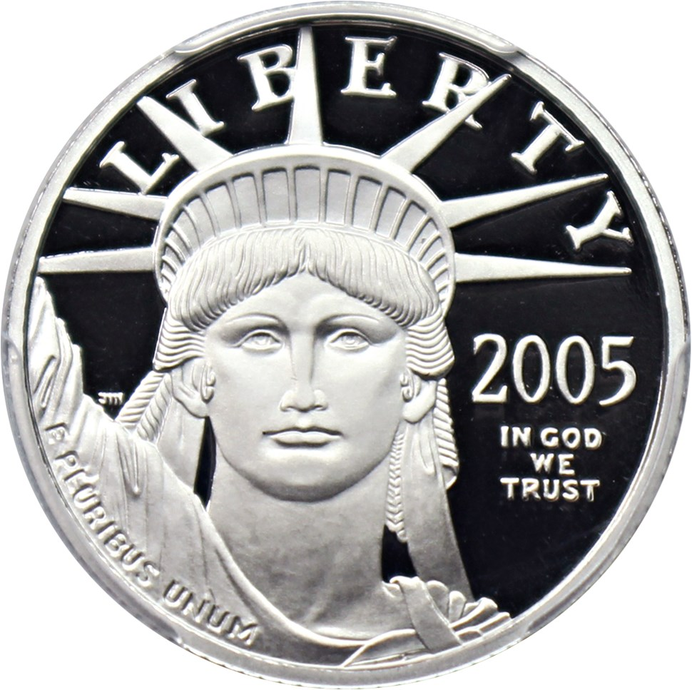 sample image for 2005-W Platinum Eagle $25  PR DCAM