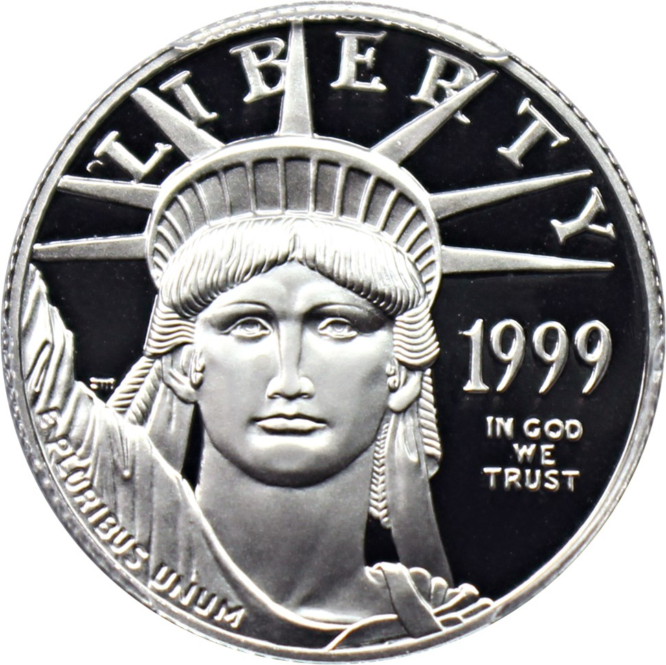 sample image for 1999-W Platinum Eagle $25  PR DCAM