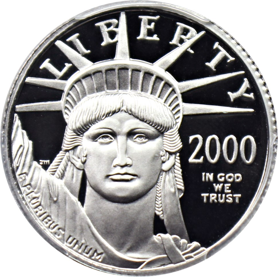 sample image for 2000-W Platinum Eagle $25  PR DCAM