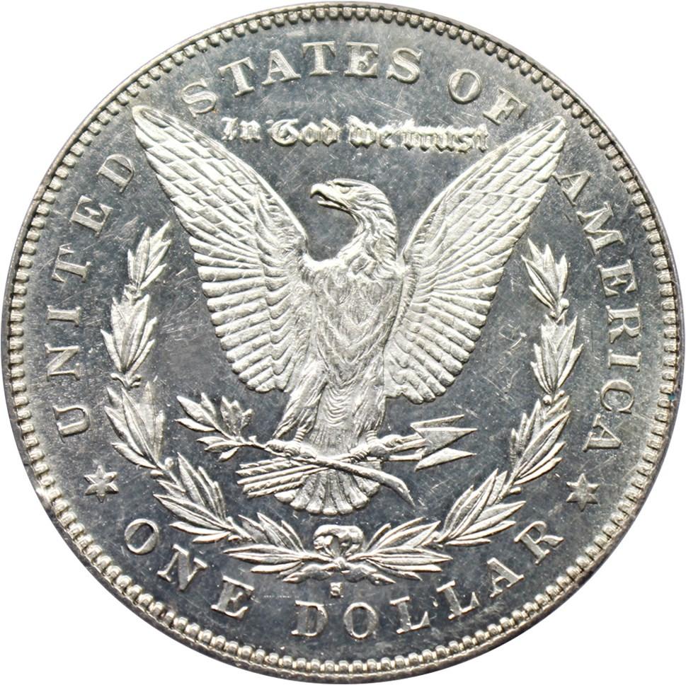 sample image for 1878-S $1  MS VAM-57, Long Arrow Shaft