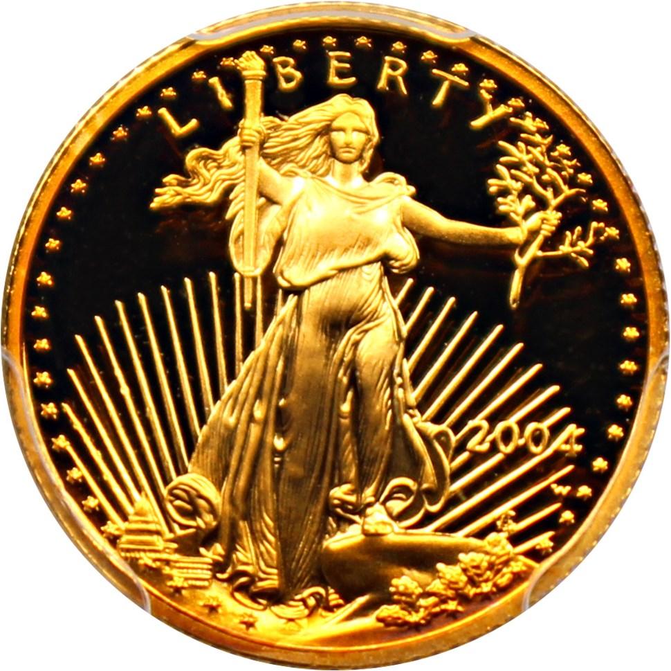 sample image for 2004-W Gold Eagle $5  PR DCAM