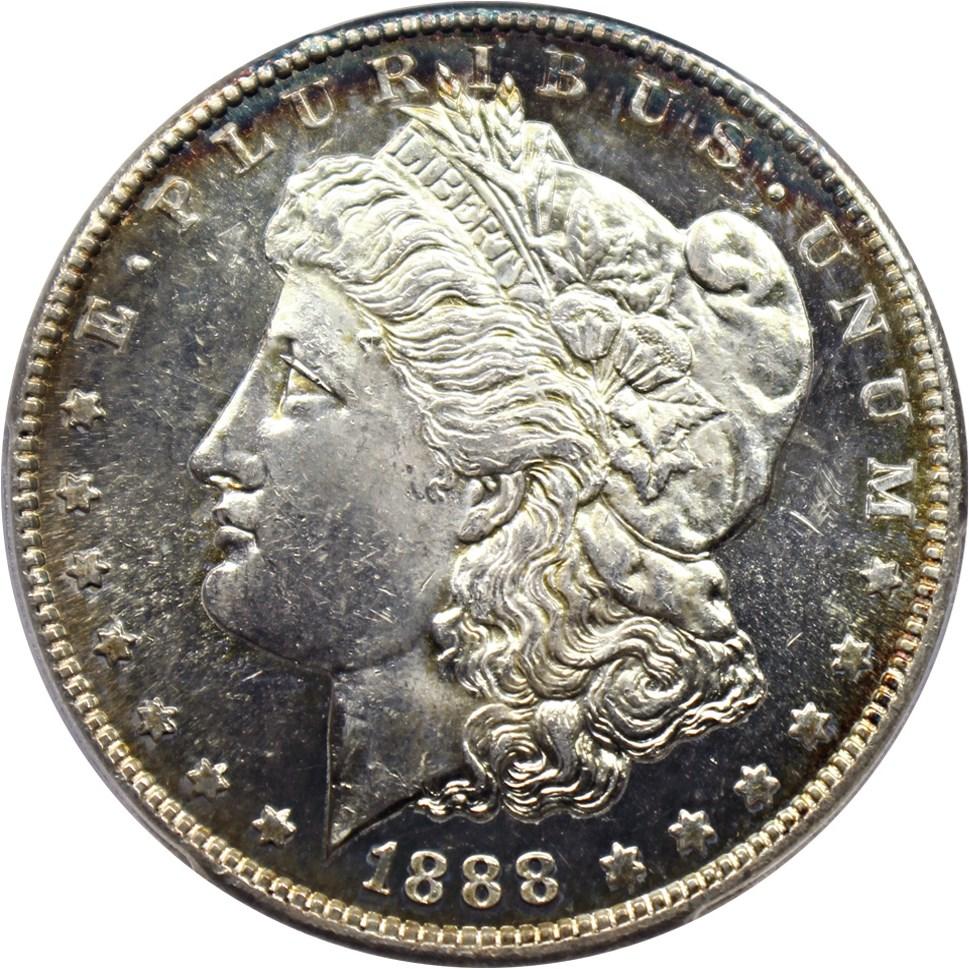 sample image for 1888-S $1  MS DMPL