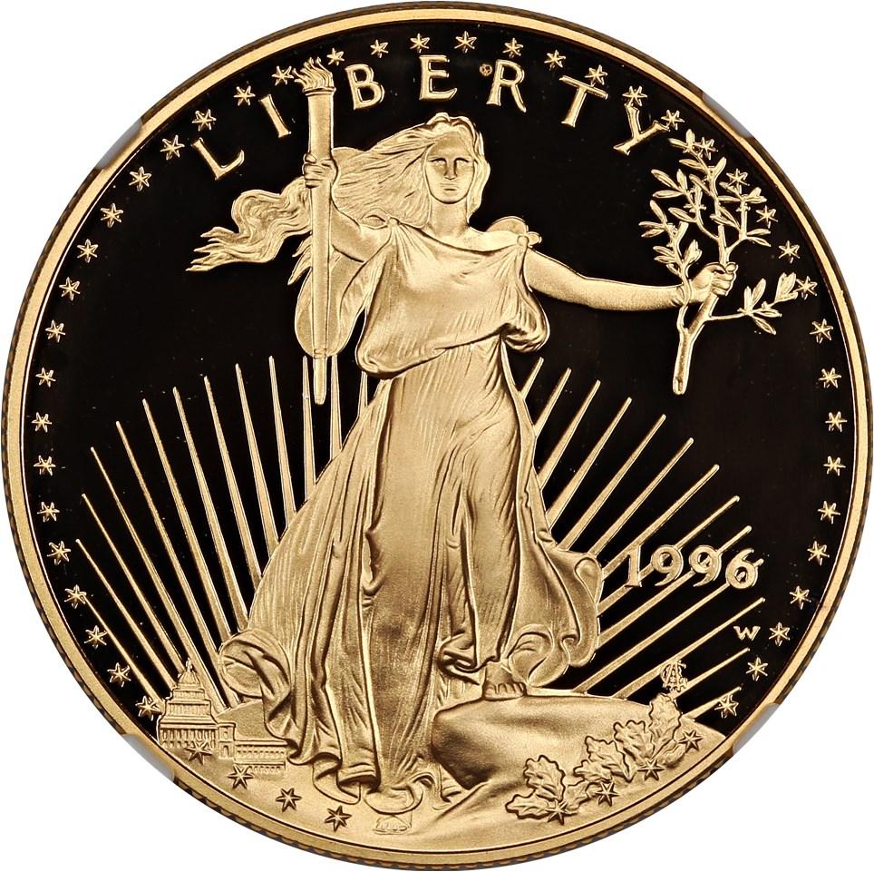 sample image for 1996-W Gold Eagle $50  PR DCAM