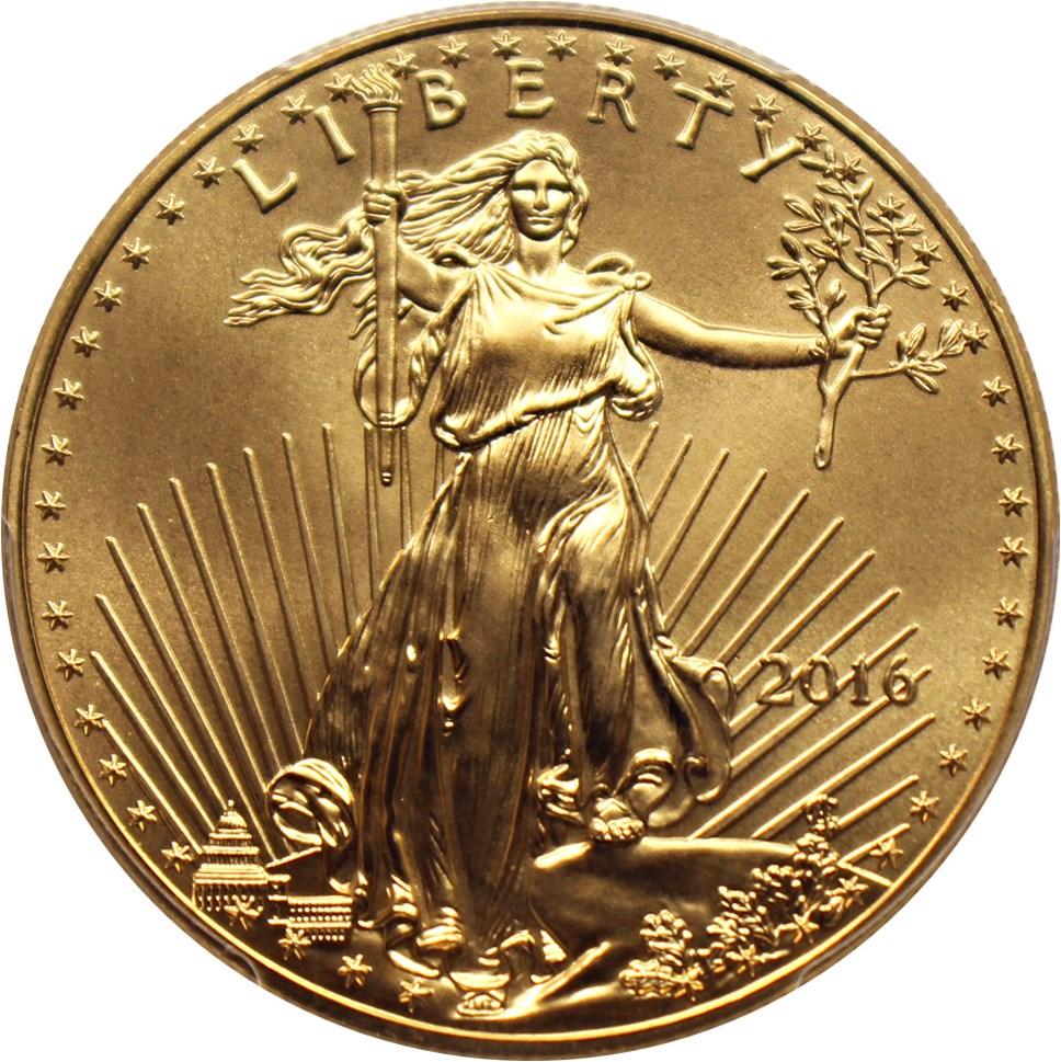 sample image for 2013-W Gold Eagle $50  SP Burnished