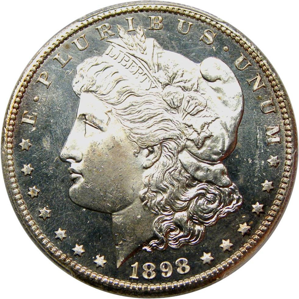 sample image for 1898-S $1  MS DMPL