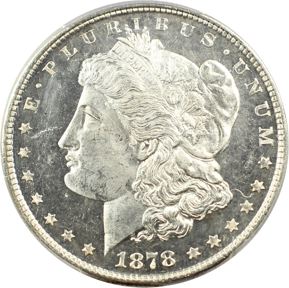 sample image for 1878 7TF $1  MS DMPL Reverse of 1879