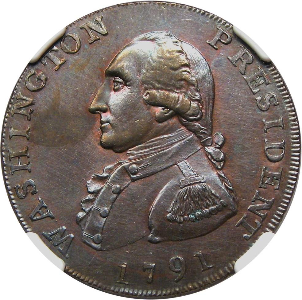 sample image for 1791 Wash Large Eagle BN