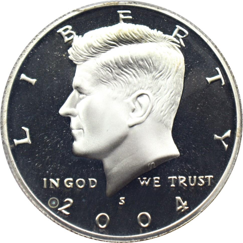 sample image for 2004-S 50c PR DCAM Silver