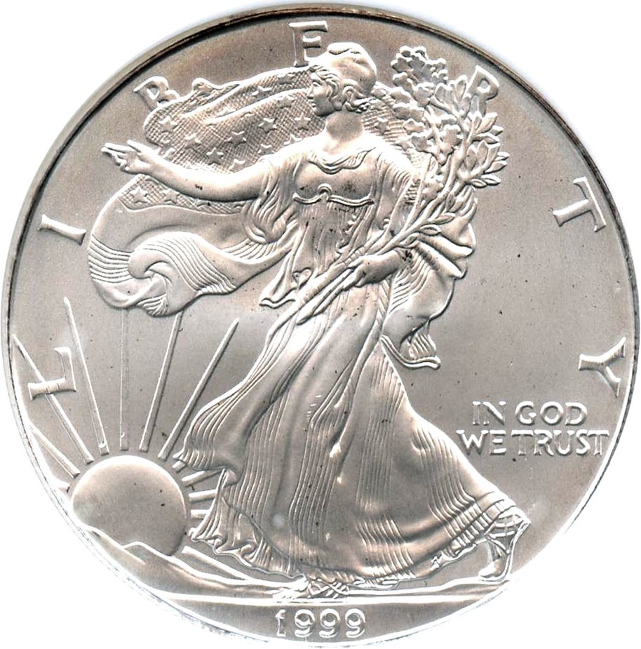 sample image for 1999 Silver Eagle $1  MS