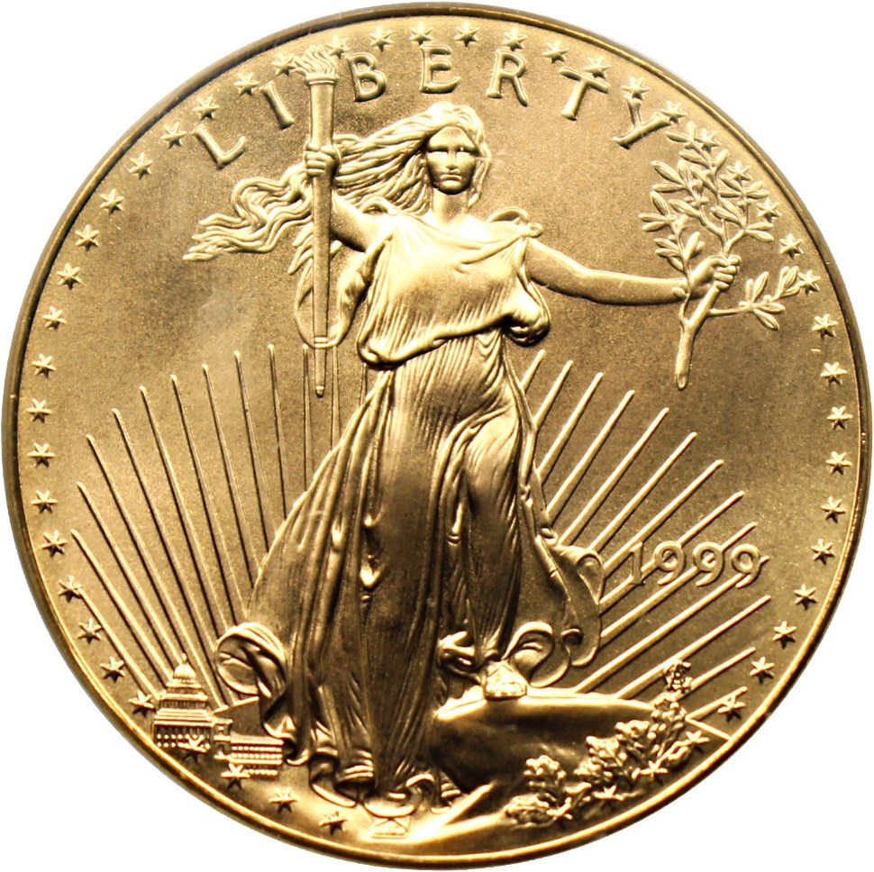 sample image for 1999 Gold Eagle $50  MS