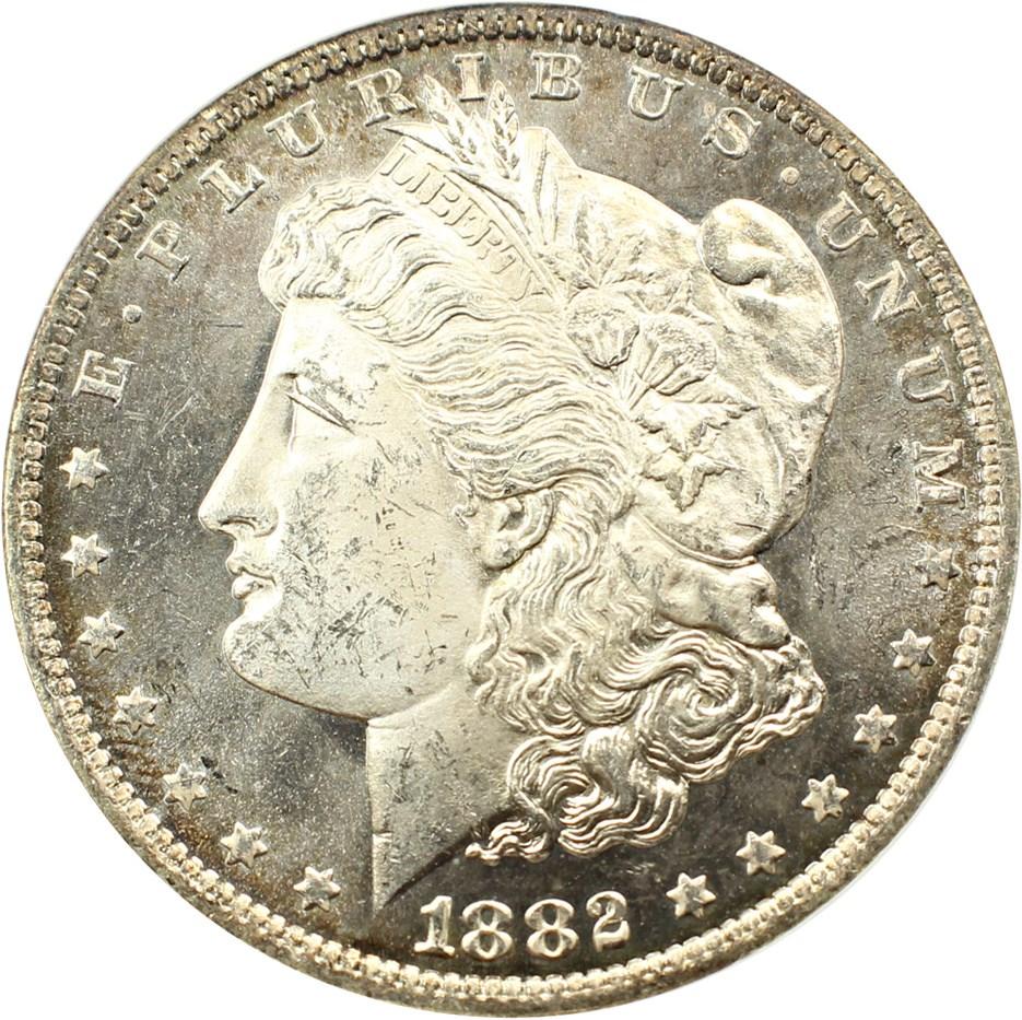 sample image for 1882-O $1  MS DMPL