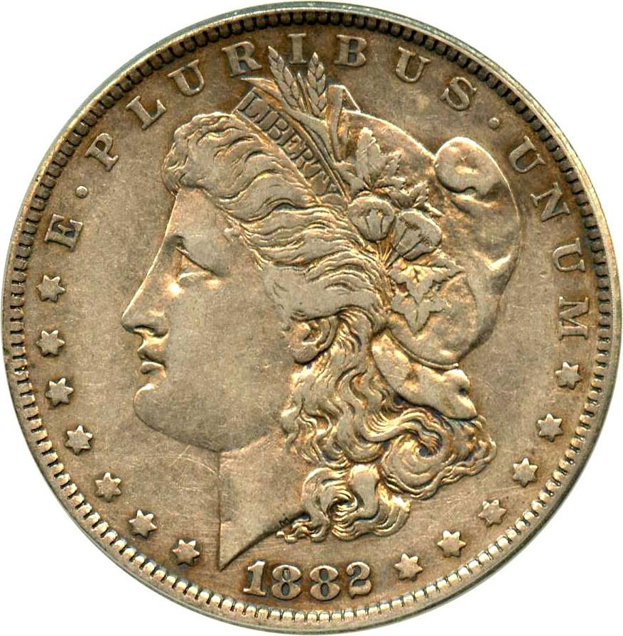 sample image for 1882-O $1  MS VAM-4, O/S, EDS